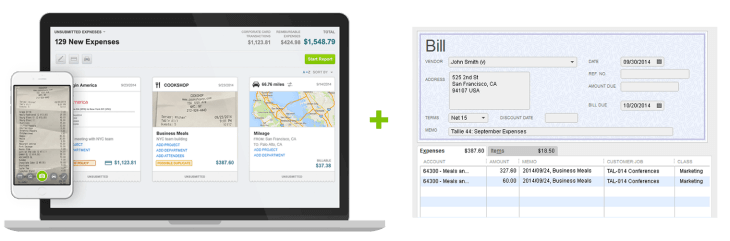 Tallie + QuickBooks Desktop
